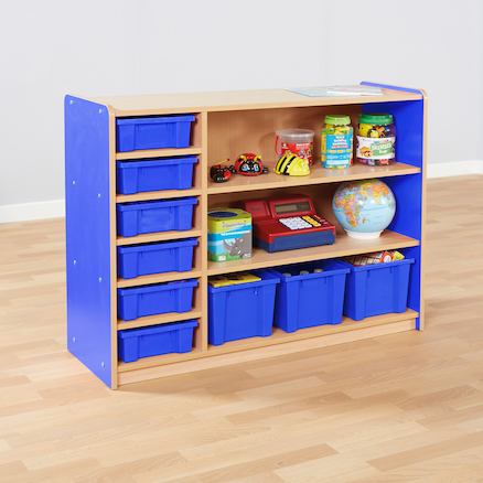 Copenhagen Bookcase and Tray Storage  large