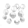 Marvellous Metallics Silver Boulder Blocks 12pk  small