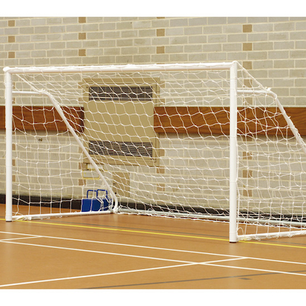 Foldaway 5 a side Steel Football Goal Posts  large