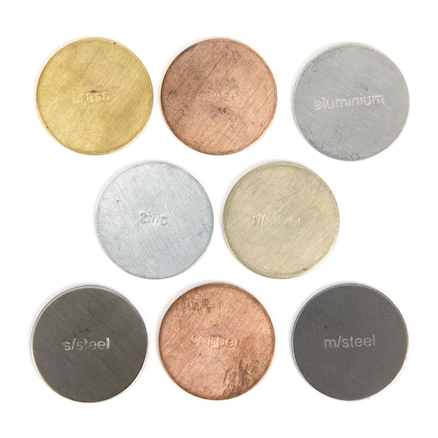Assorted Metal Discs 25mm 8pk  large