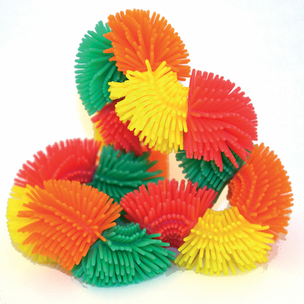 Soft Hairy Tangle Fidget  large