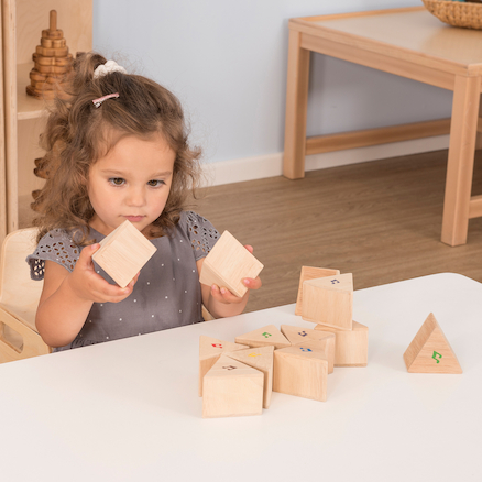 Sound Prisms Sensory Wooden Sound Blocks  large