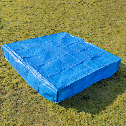 Square Sandpit and Planter Cover  large