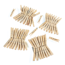 Wooden Clothes Pegs 72pk  medium