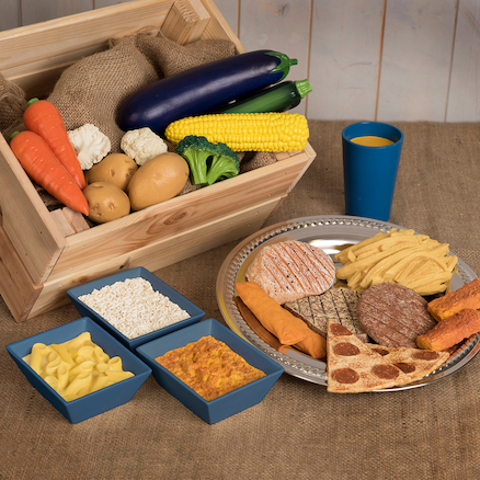 Role Play Dinner Food Set  large