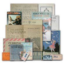 WW2 Child Of War Memorabilia Pack  medium