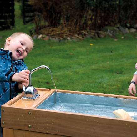 Outdoor Water and Sand Table with Pump  large