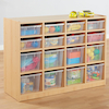 Open Storage Unit with 16 Compartments  small