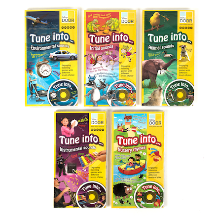 Tune Into\u2026 Listening Games Audio CD and Cards  large