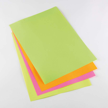 A4 Fluorescent Copier Paper 80gsm 5pk  large