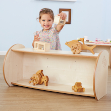Toddler Mini Open Shelf Unit  medium