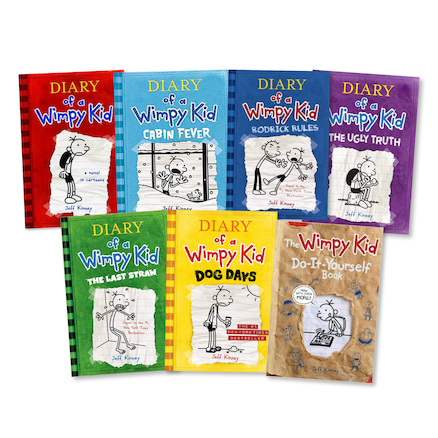 Jeff Kinney Guided Reading Books 42pk  large