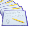Magnetic Write and Wipe Tablet 6pk  small