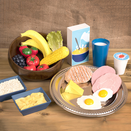 Role Play Eat Well Food Set  large