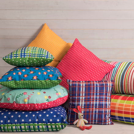 Mixed Pattern Cushions  large