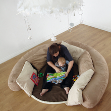 Baby and Toddler Cosy Den with Cushions  medium