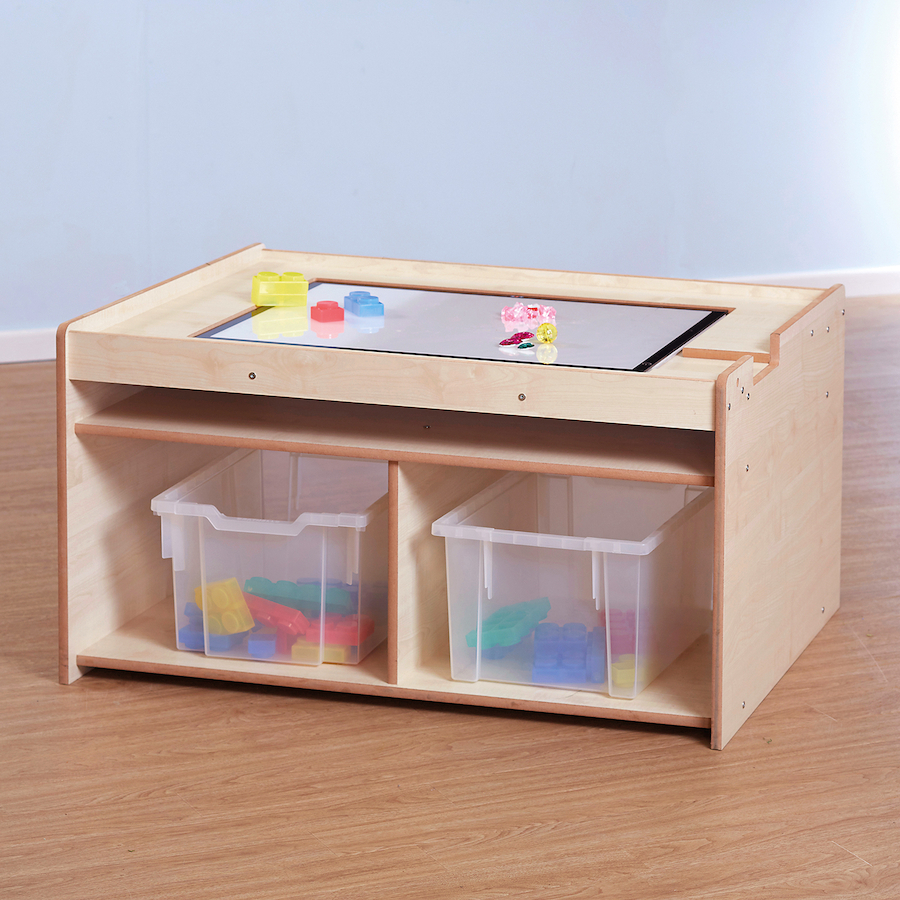 Buy Light Panel Table With Storage