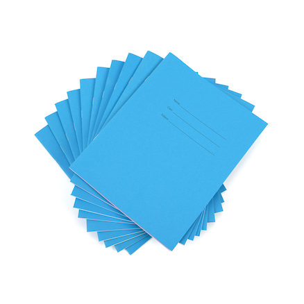 Tinted Squared Exercise Books 10pk  large