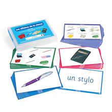 French Vocabulary Builders - Classroom Objects  medium