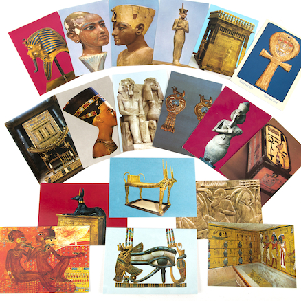 The Young Tutankhamun Artefacts Collection  large