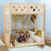 Super Seat Indoor Wooden Den Structure  small
