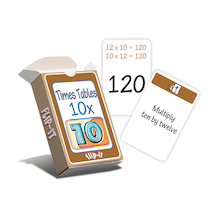 Flip-It 10 Times Tables  medium