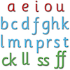 Phonics Foam Magnetic Letters  small