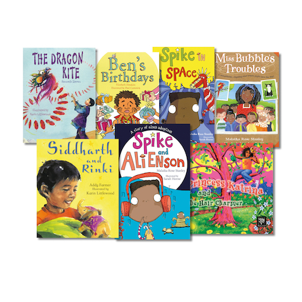 Multicultural Story Books  large
