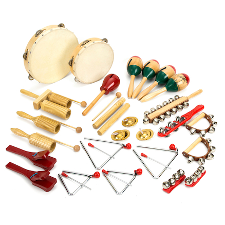 Classroom Percussion Instruments 25pcs  large
