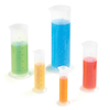 Plastic Graduated Measuring Cylinders Set 5pk  small