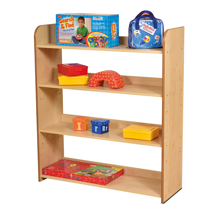open back maple bookcase. buy open back maple bookcase  tts