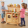 Role Play Double Sided Kitchen Unit  small