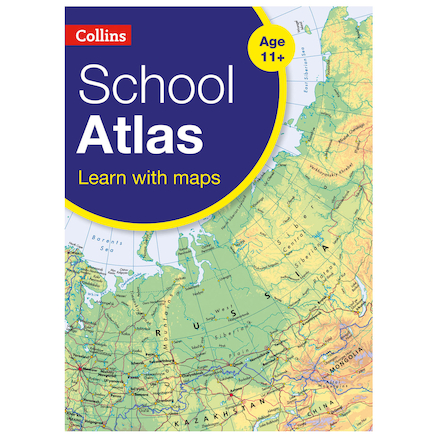 Collins School Atlas  large