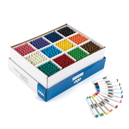 TTS Standard Assorted Crayons 432pk  large