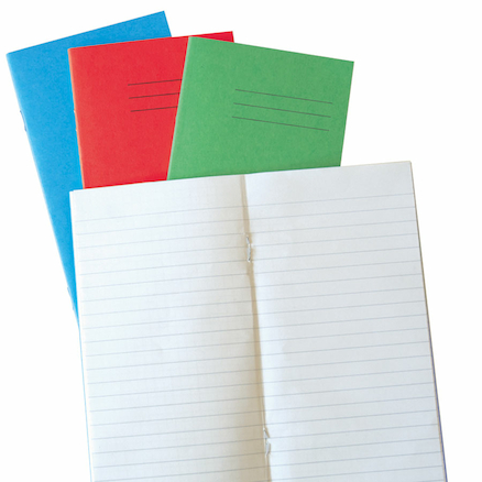 6.5 x 4\'\' 48 pages 100pk Exercise Books  large