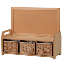 Playscapes Low Display Unit with 3 Baskets  medium