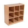 Open Storage Unit with Nine Large Compartments  small