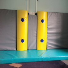Shuddabar Vibrating Soft Play Pillar  medium