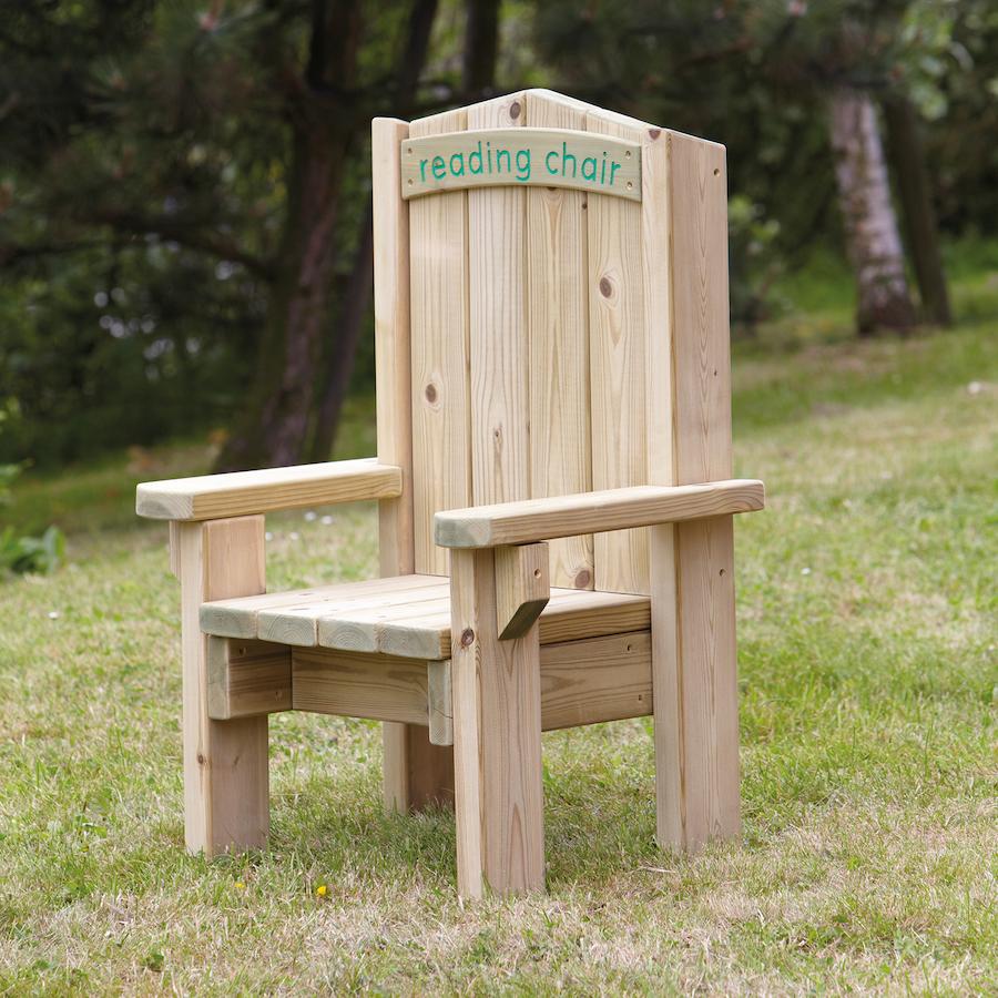 Buy Outdoor Wooden Children 39 S Reading Chair Tts