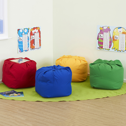 Sag Bag Primary Colours 4pk  large