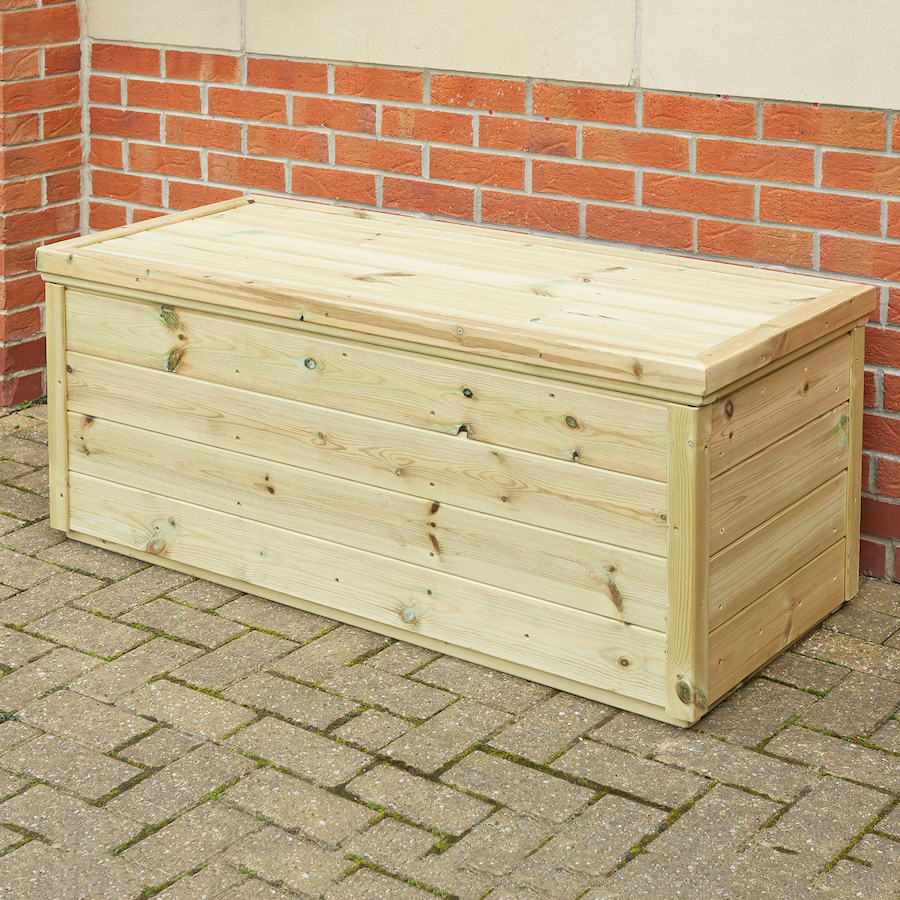 how to make a wooden storage box