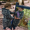 Toddlers Double Mirror And Acrylic Easel  small