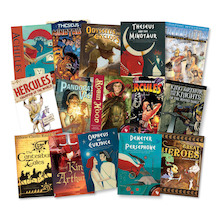 Myths and Legends Books 15pk  medium