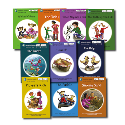 Dandelion Phonic Readers Decodable Book Packs 10pk  large