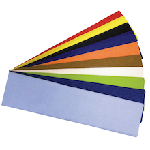 Crepe Paper Pack Assorted 10pk  medium