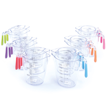 Assorted Coloured Measuring Jugs  medium