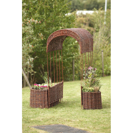 Outdoor Willow Walkway  large