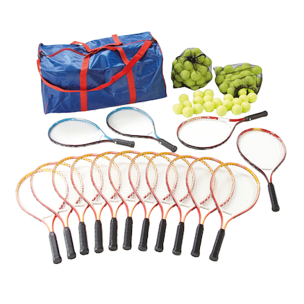Tennis Kit with 15 Racquets and Bag  large