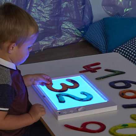 A4 RGB Colour Changing Rechargeable Light Panel  large