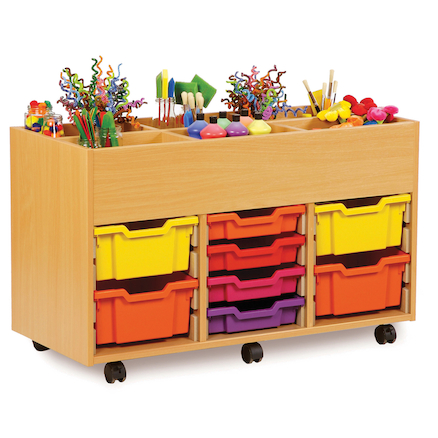 8 Tray Kinderbox Storage Unit  large